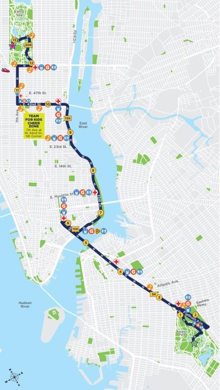 parcours-semi-marathon-new-york