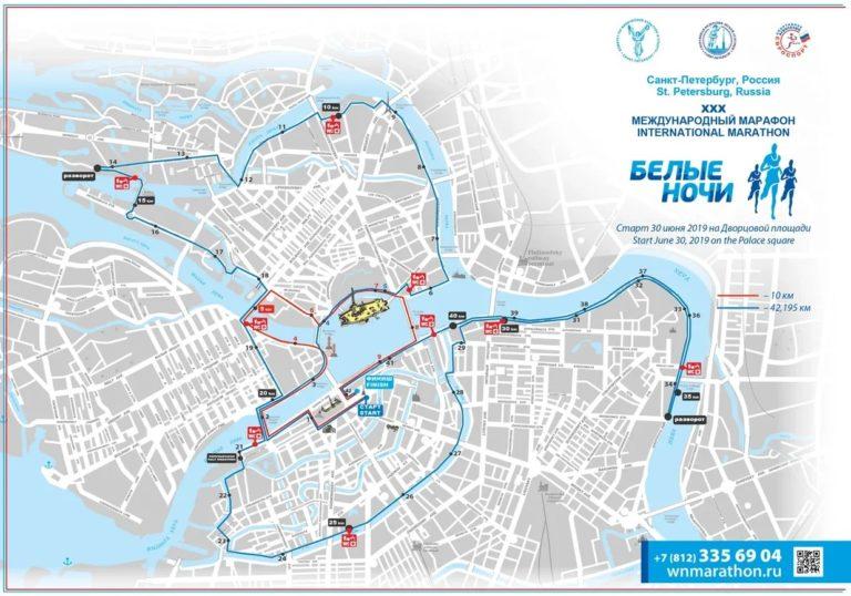 parcours des courses de Saint Saint-Pétersbourg