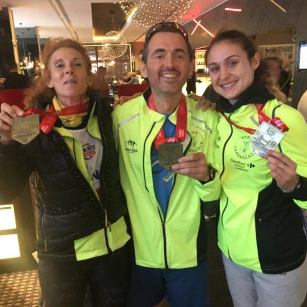 finishers marathon de Londres