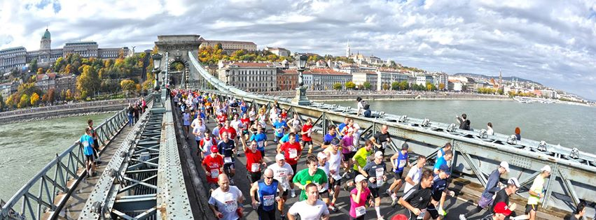 coureurs du marathon de Budapest