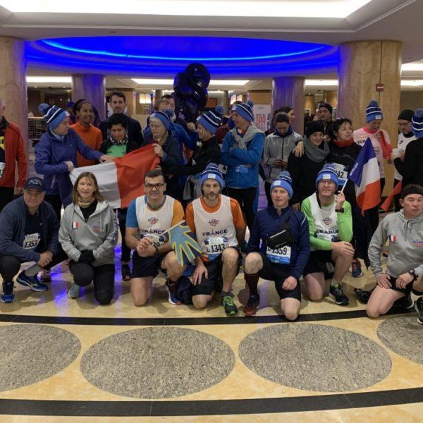 Tous près pour le départ du marathon de Ne New York