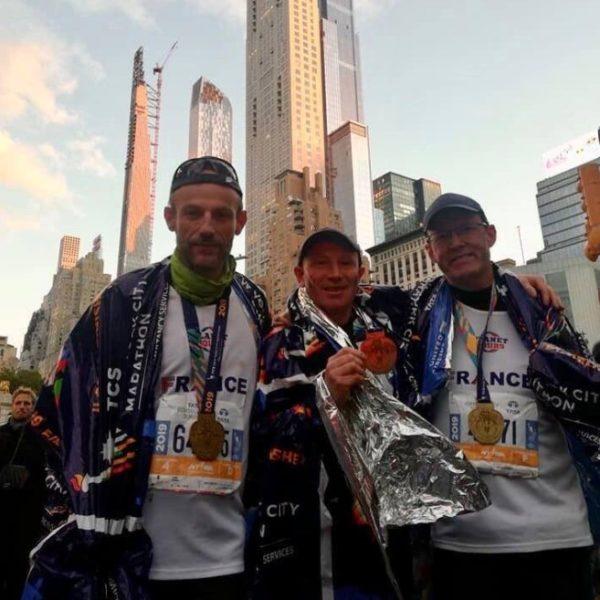 finishers heureux marathon de New York