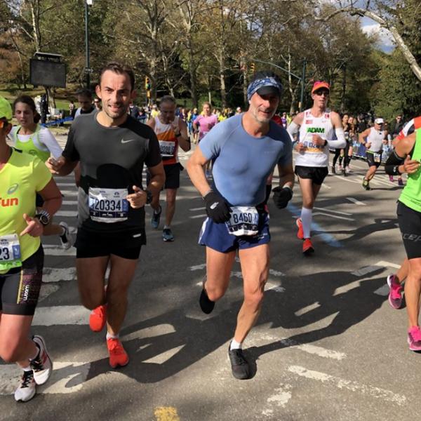 marathoniens à new York