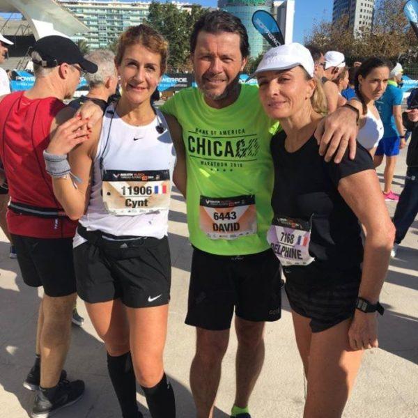 Ensemble pour le marathon de Valence