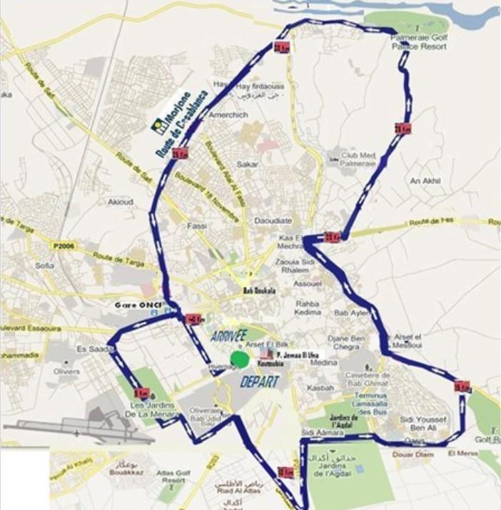 Parcours-du-marathon-de-Marrakech