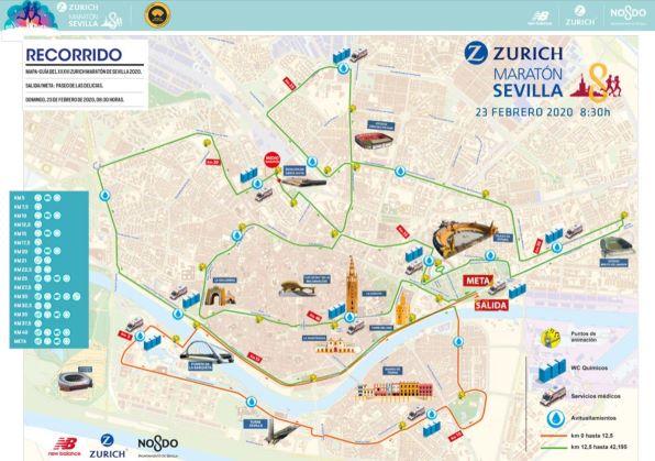 parcours-marathon-séville