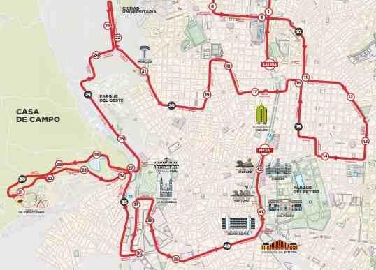 parcours-marathon-madrid